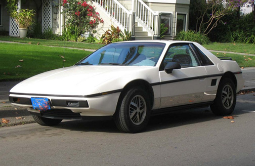 pontiac fiero  gm  service manual 1987