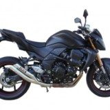 Kawasaki Z750, Z750-ABS, ZR750L7F, ZR750M7F Motorcycle Service & Repair Manual 2007 in Spanish
