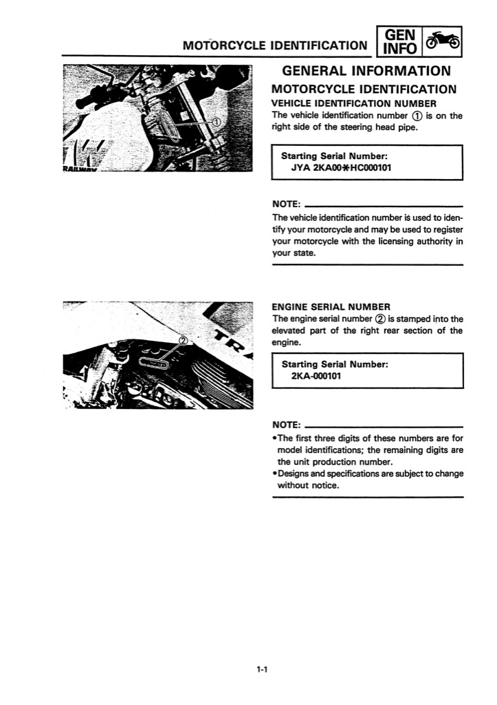 yamaha tw200t motorcycle workshop service repair manual. Black Bedroom Furniture Sets. Home Design Ideas