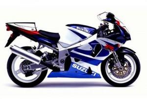 Suzuki GSX-R750 Motorcycle Workshop Service Repair Manual 2000-2002
