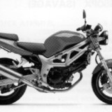 Suzuki SV650 (SV650X, SV650Y) Motorcycle Workshop Service Repair Manual 1999-2001