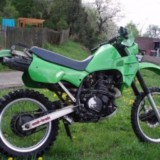 Kawasaki KLR600 (KL-600-A1) Motorcycle Workshop Service Repair Manual 1984