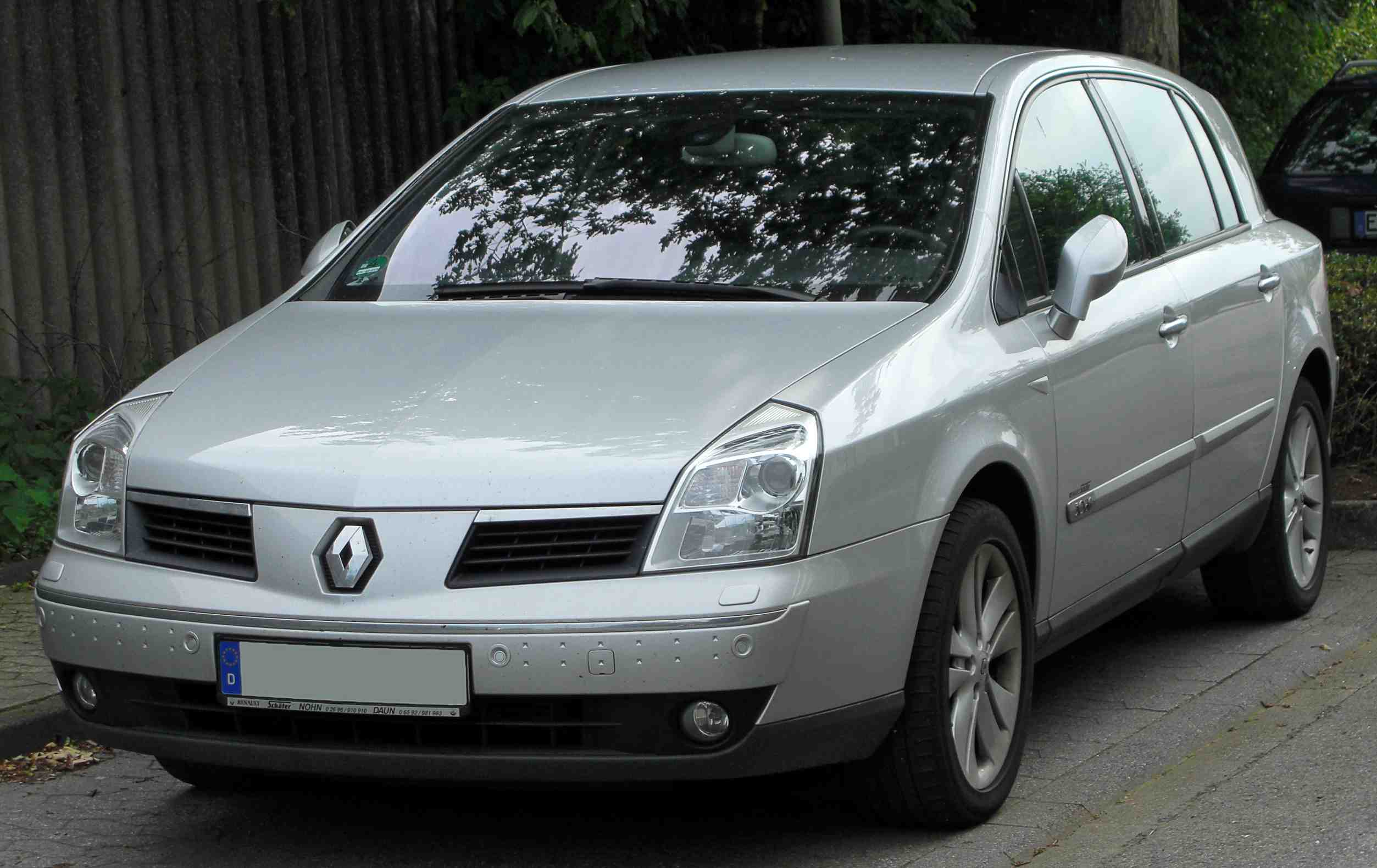 Renault Vel Satis Workshop Service Repair Manual 2001