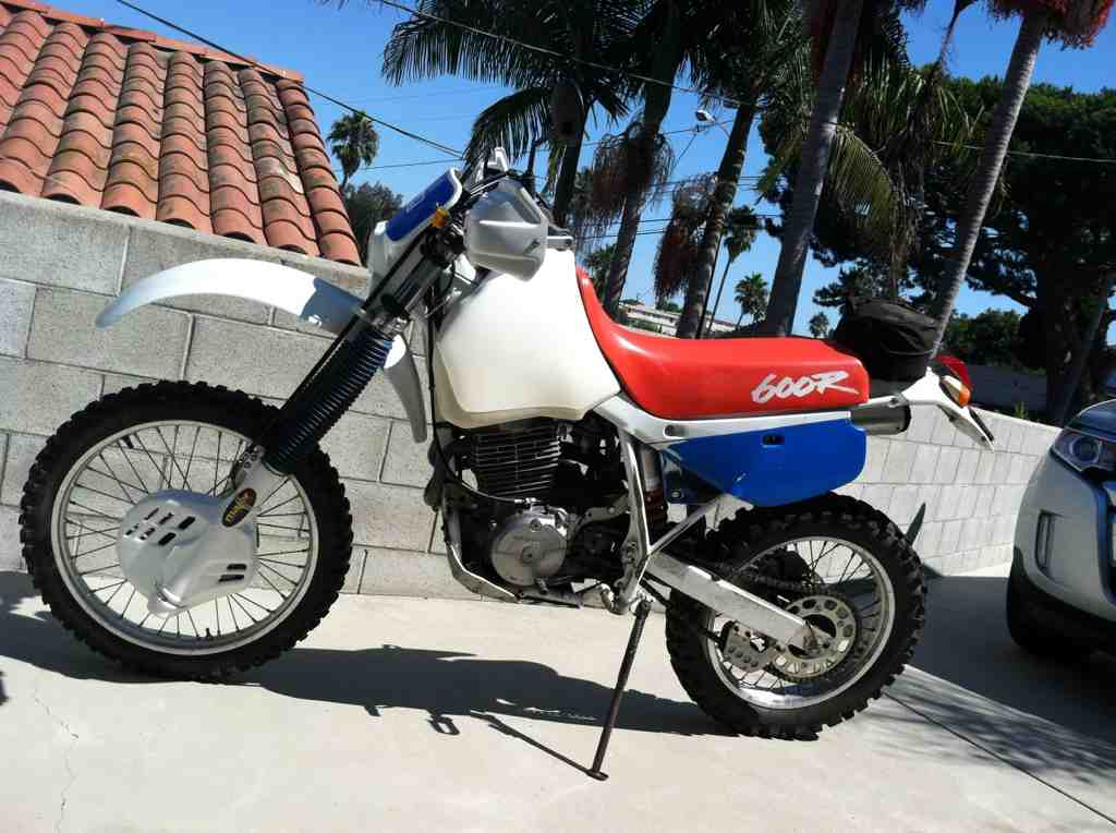 1986 Honda Xl600r Manual