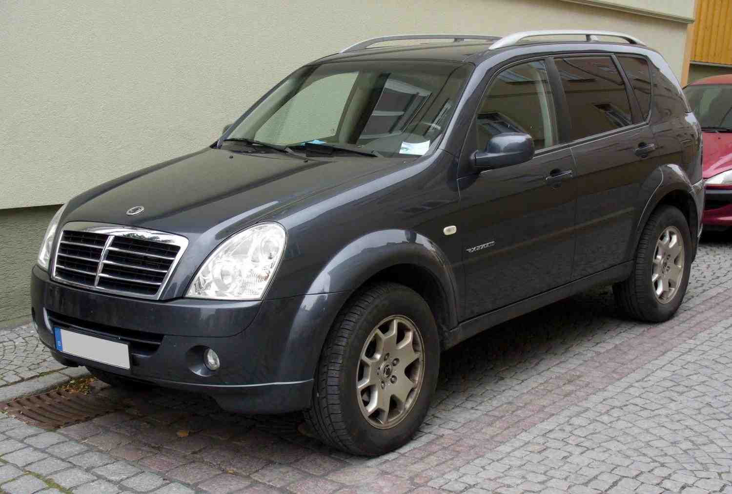 SsangYong Rexton Workshop Service Repair Manual 2002-2003 (1,871 Pages,  226MB, Searchable