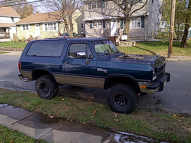 Dodge Ramcharger on 1989 Dodge Ram 1500