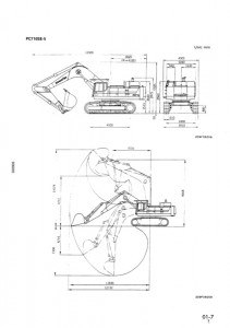 Komatsu PC650-5 PC650SE-5 PC650LC-5 PC710-5 PC710SE-5 Excavators Repair & Service Manual