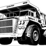 Komatsu 685E Dump Truck Factory Shop & Service Manual