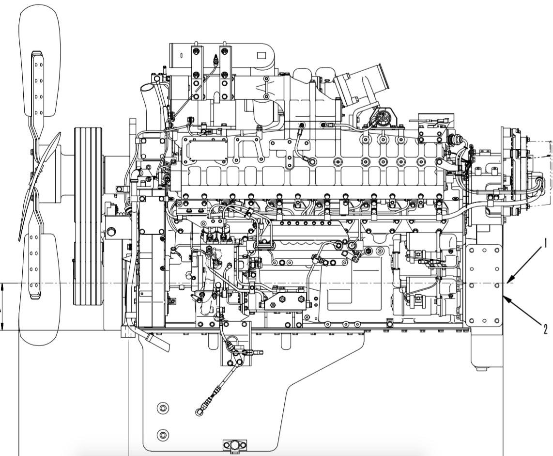 komatsu 140 series engines factory service  u0026 shop manual