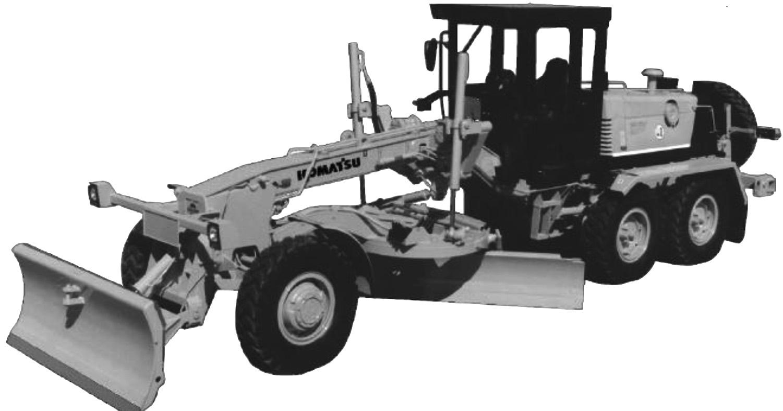 Komatsu Motor Grader GD530A(W), GD600R, GD605A-R, GD611-R, GD613A-R,  GD615A, GD621A-R, GD622A, GD623A-R, GD625A, GD650A(W)-R, GD655A-R, GD661A,  GD663A, ...