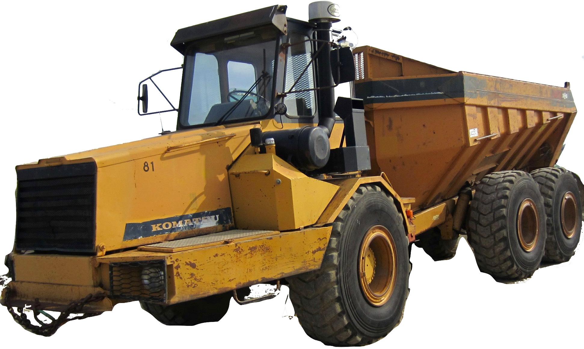 Komatsu Articulated Dump Truck HA250, HA270 Factory Service & Shop Manual