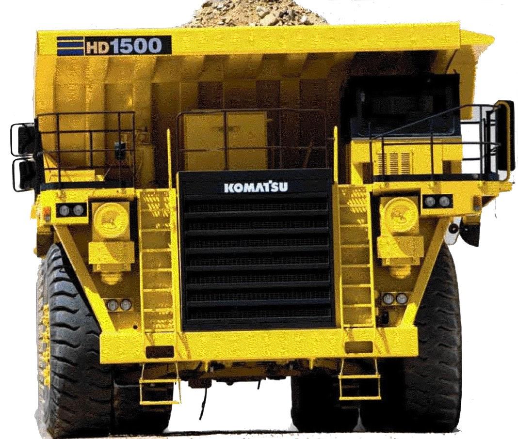 Komatsu Dump Truck HD1500 Factory Service & Shop Manual
