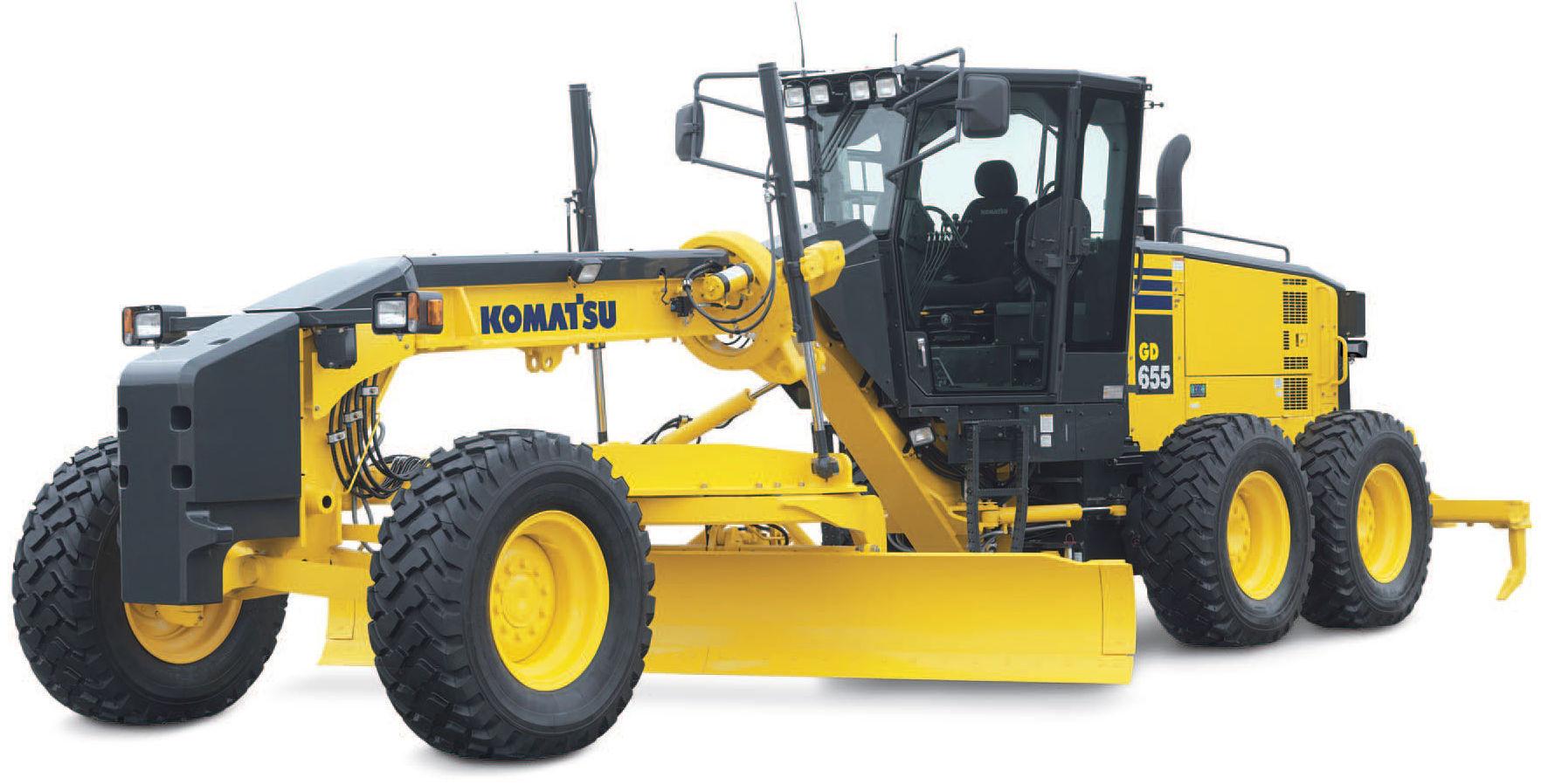 Komatsu Motor Grader GD555, GD655, GD675 Workshop Repair & Service Manual