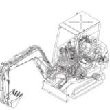 Komatsu Hydraulic PC03, PC05, PC07, PC09, PC10, PC12, PC15, PC18, PC20, PC25, PC27, PC30, PC35, PC40, PC45, PC50, PC55 Excavator Factory Service & Shop Manual