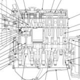 Komatsu 67(E)-68E-70E-72-74E-75-76(E)-78(E)-82E-84E-88E-94E-95(E)-98(E)-106 Series Diesel Engines Factory Service & Shop Manual