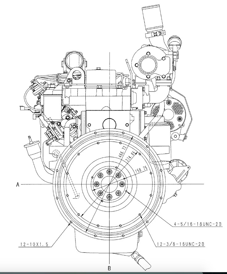 Komatsu 102 Series Diesel Engines Factory Service Shop Manual