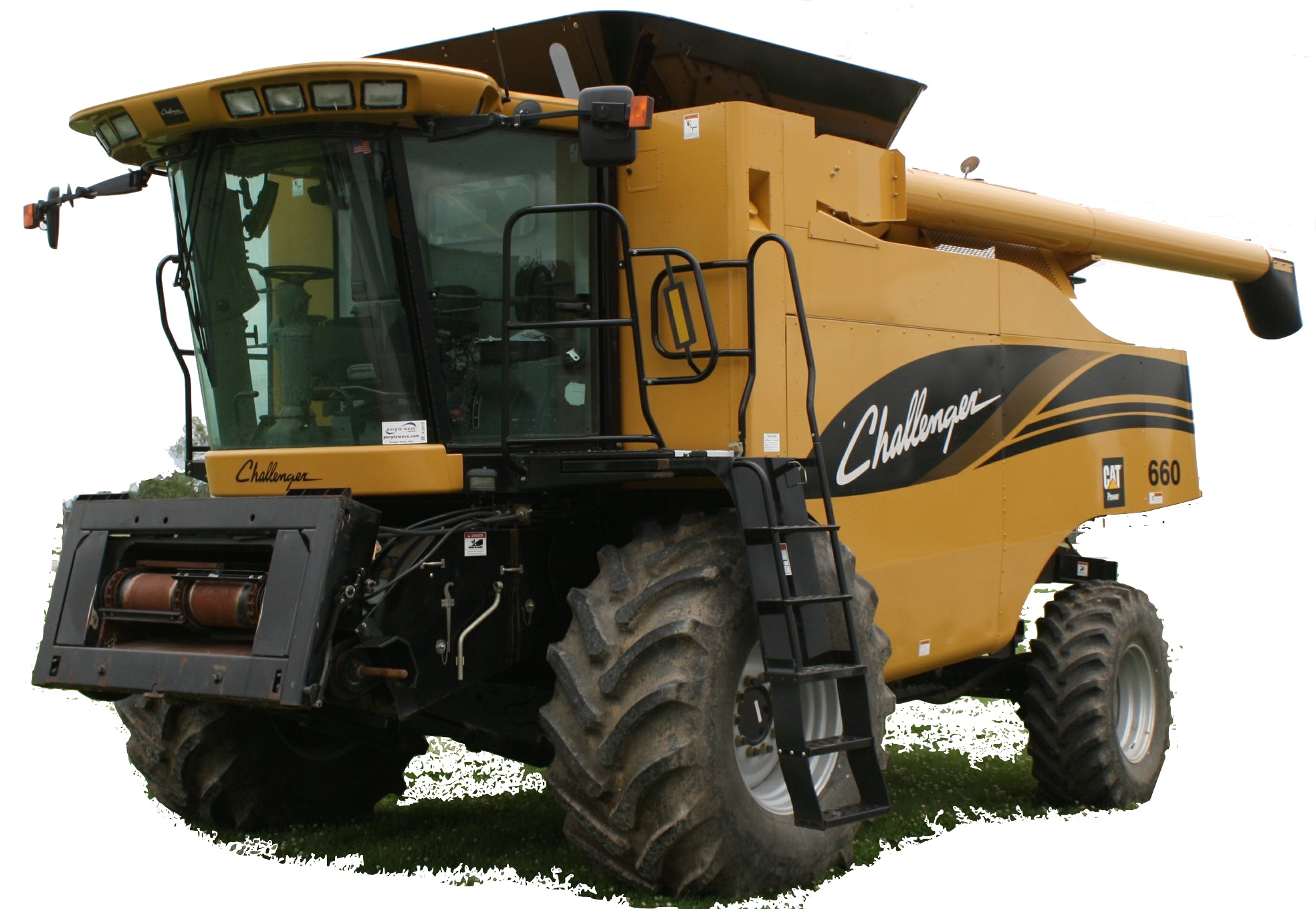 Challenger 660/670 Rotary Combine Factory Service & Shop Manual