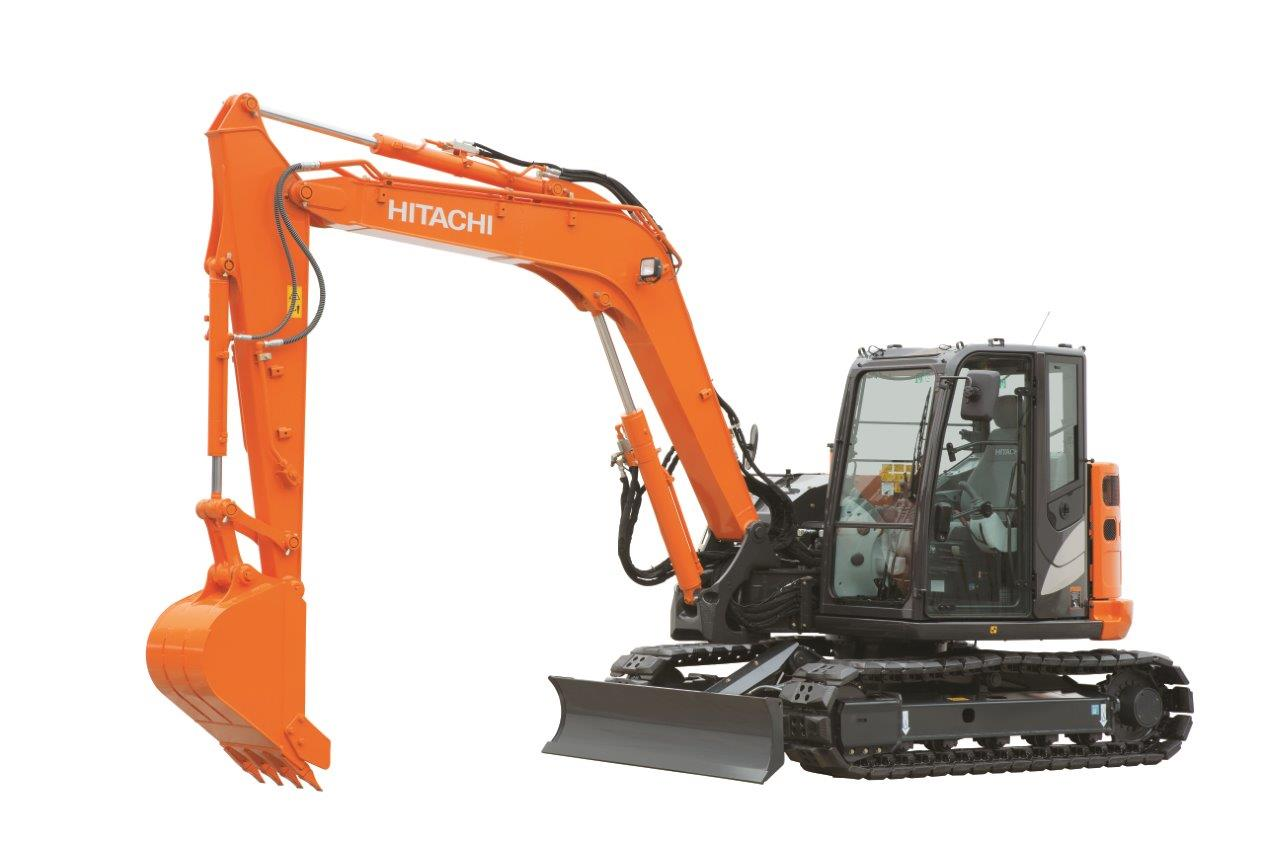 Hitachi Zaxis 70  75  85 Excavators Factory Service  U0026 Shop