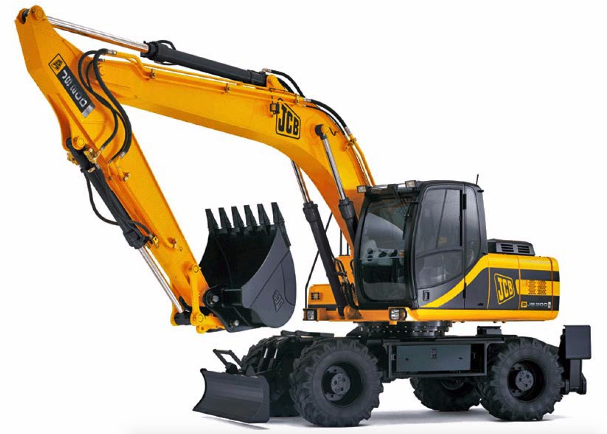 Pages from 9803-9540 – JCB JS200W TIER III Hydraulic Excavator Service  Manual