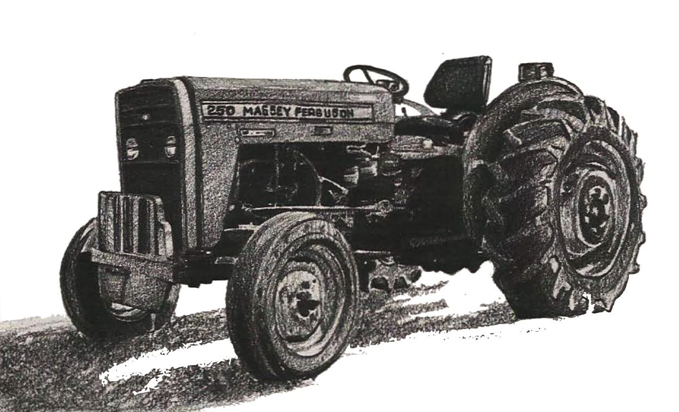massey ferguson tractors mf230 mf235 mf240 mf245 mf250. Black Bedroom Furniture Sets. Home Design Ideas