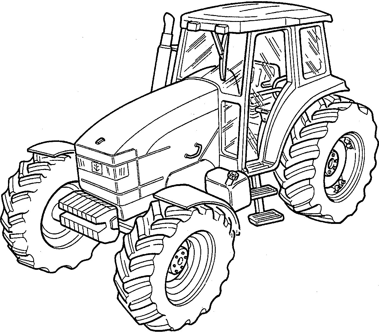 New Holland 100 - 115 - 135 - 160 HP Tractors Factory Service & Shop on