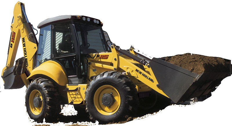 New Holland Backhoe Loaders B110, B115 Factory Service ... on