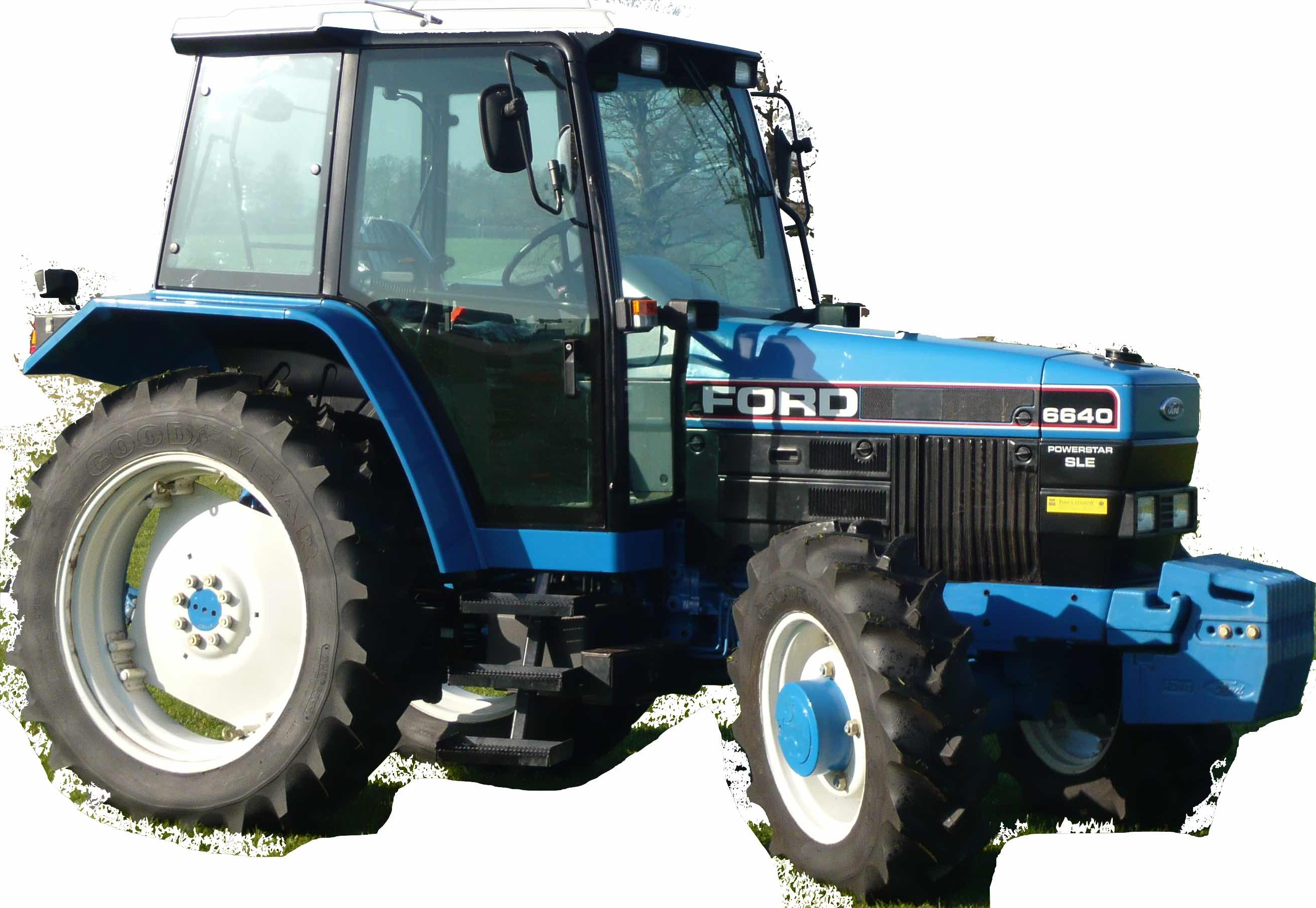 Ford New Holland 40 Series (5640, 6640, 7740, 7840, 8240, 8340) Tractors  Factory Service & Shop Manual