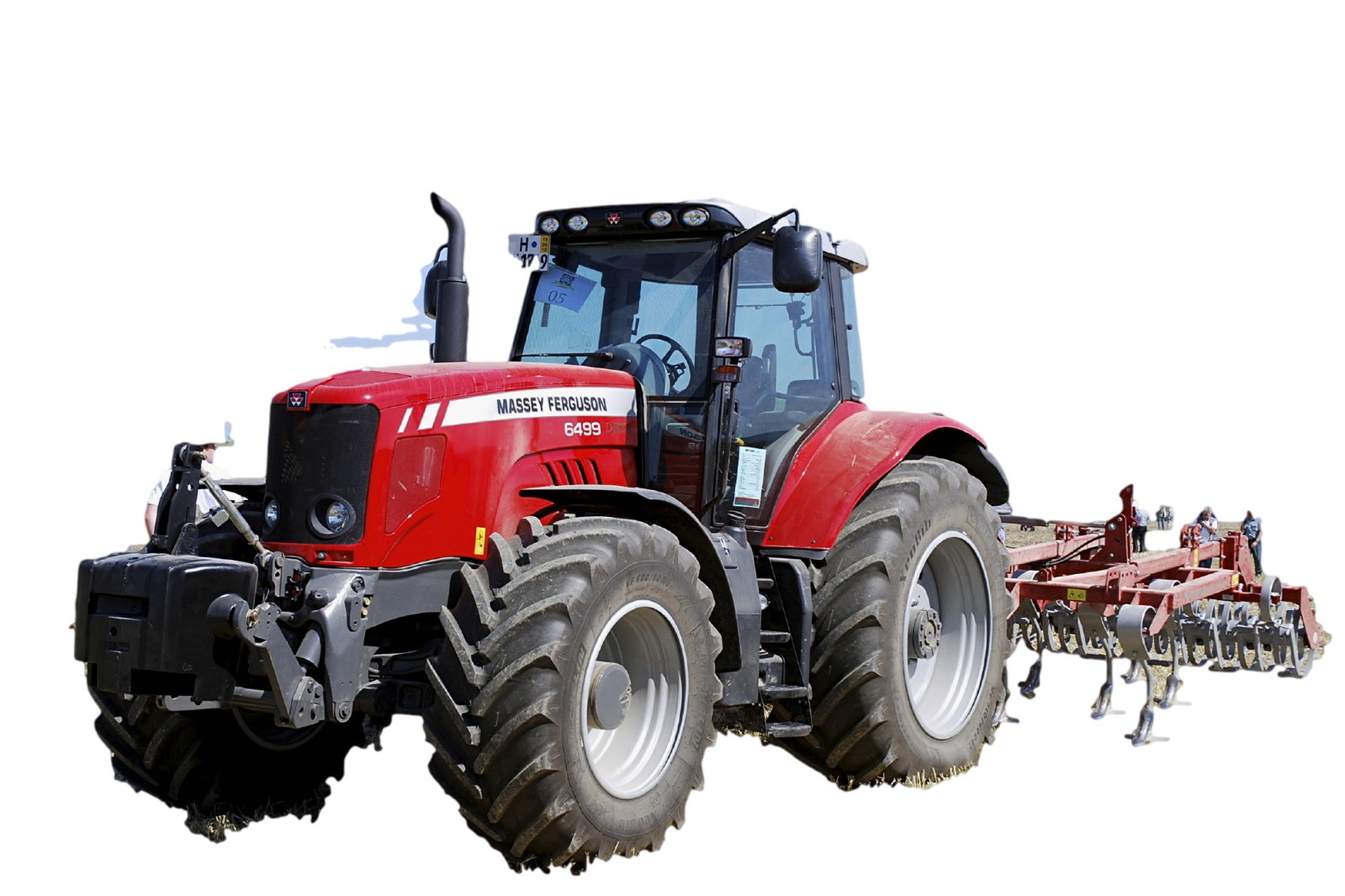 Pages from AGCO-Massey-Ferguson Tractor Series 6400 (Model MF  6445-6455-6460-6465-6470-6475-6480-6485-6490-6495-6497-6499) Workshop  Service Manual