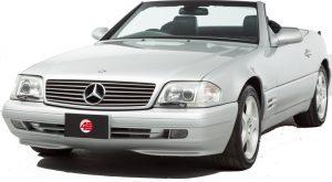 Mercedes R129 300SL 500SL 600SL SL600 Climate Control Blower Motor Assembly